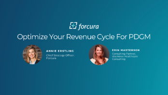 Webinar-Optimize Your Revenue Cycle for PDGM